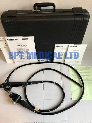 Olympus Colonoscope CF-2T200 Video EVIS Case Excellent Cond TESTED Endoscopy