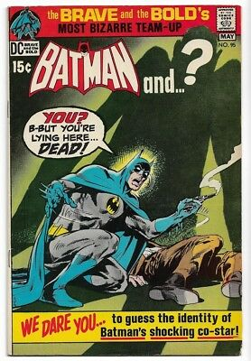 The Brave and the Bold #95 - Batman and the Plastic Man (Apr-May 1971, DC)