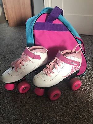 Girls Vision Roller Boots Size 2