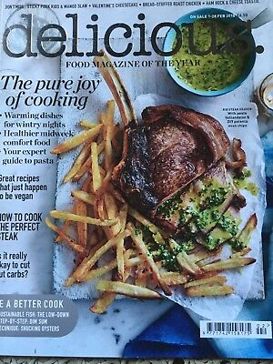 Delicious Magazine February 2018 The Food Magazine of the year