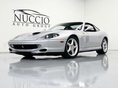 2000 Ferrari 550  2000 Ferrari 550 - Silver/ Black - 12K Miles! Records incl Belt Service in 2015!