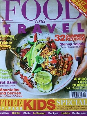 Food and travel magazine June 2017
