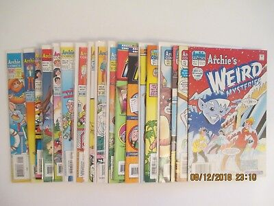 Lot Of (20) Archie's Weird Mysteries/world Of Archie Comic Books