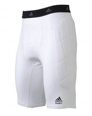 Adidas Adult Slider Short With Padded Sides - White - SIZE 2XL BRAND NEW ! NWT