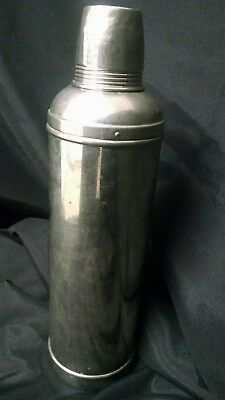 """Vintage 14"""" Tall , AMERICAN THERMOS BOTTLE CO. Thermos DATED May 26, 1908 RARE"""