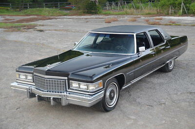 Cadillac Brougham  Fleetwood Brougham d'Elegance with records since new including window sticker