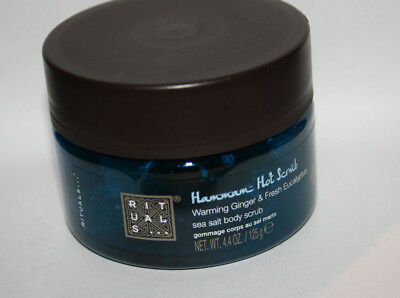 Rituals Hammam Hot Scrub Body Scrub / 125 ml / Neu / Sea Salt / Körperpeeling