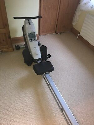 Kettler Coach M Rowing Machine With Heart Rate Monitor Hardly Used.