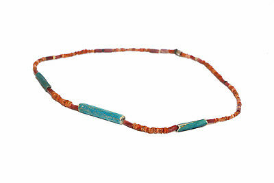 Pre Columbian OLD TRADE BEADS Necklace Big New Cadiz Spondylus antique