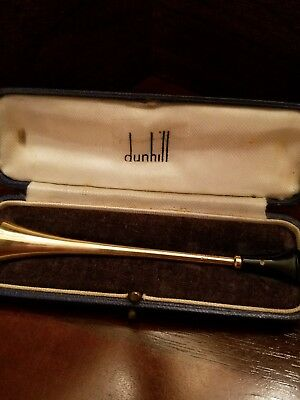 "Dunhill ""RARE"" 1930's 9CT 9K SOLID GOLD CIGARETTE HOLDER"