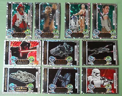 Topps Star Wars The Force Awakens Attax Ltd Cards