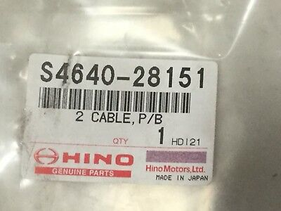 Hino S4640-28151 Cable