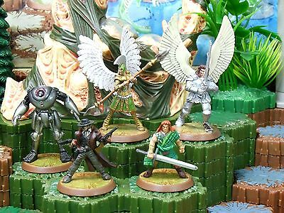 Heroscape Heroes of Nostralund - Alastair, Concan. Saylind, Sullivan and more