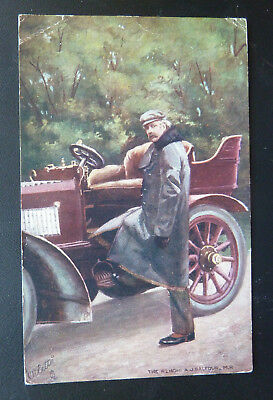Celebrities Of The Motoring World, A.J. Balfour MP, Tuck 9017 Postcard, B535