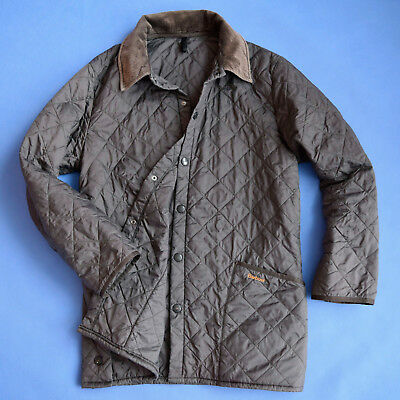MEN'S BARBOUR LIDDESDALE JACKET Lightweight Quilted Coat L