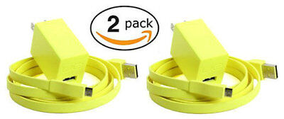 (2-Pack) Logitech Charger & USB Cable for UE BOOM UE BOOM 2 UE ROLL / WONDERBOOM