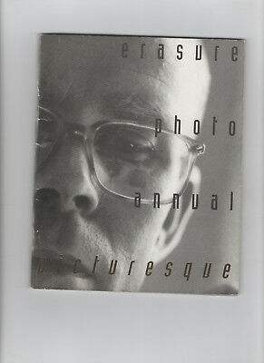 Erasure Photo Annual Picturesque - American Import - Andy Bell Vince Clarke