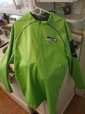 f4c77c0f4ed6 Nike Seattle Seahawks Alpha Fly Rush Full-Zip Men s Jacket SZ xl Action  Green eu