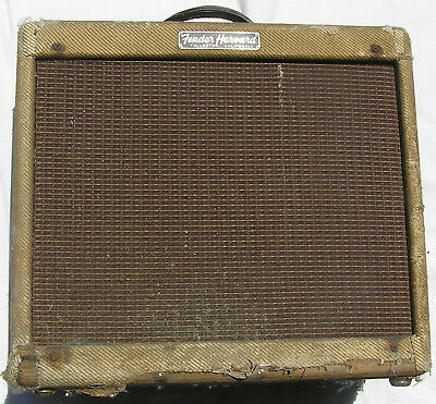 1959 59 Fender Harvard guitar amplifier Vintage untouched Ratty Cool No reserve