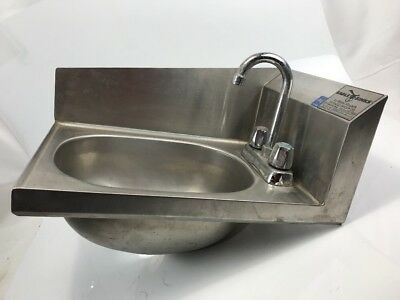 Eagle By Metal Master 16 gauge Commercial HD Stainless Steel Hand Sink Prison