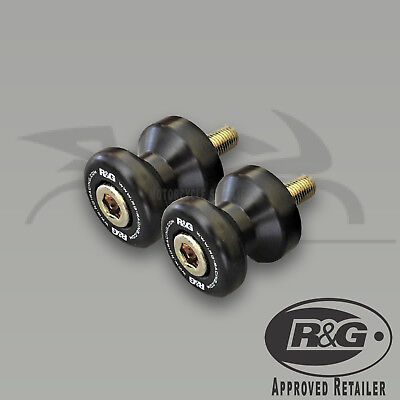 2010-2018 BMW S1000R & S1000RR Cotton Reels/Paddock Stand Bobbins by R&G Racing