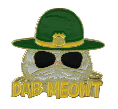 Super Troopers Dab Meowt Lapel Hat Pin Stoner Movie 420 HatPin //Dab Meow