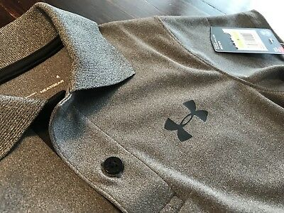 NWT Boys UNDER ARMOUR Polo Shirt GRAY 3t/4t 4 NEW chemise garcons