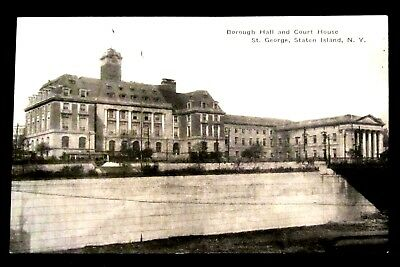 ST GEORGE BOROUGH Hall & COURT HOUSE Staten Island, NY N.Y. New York, ALBERTYPE