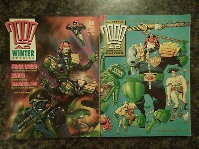 2000AD Winter Special 1988 AND Best of Special Edition 1993