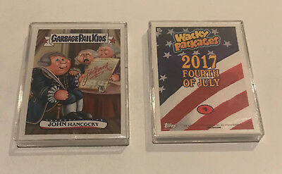 Garbage Pail Kids Fourth of July Online Set Topps 2017 9-Card Trump 119 Made