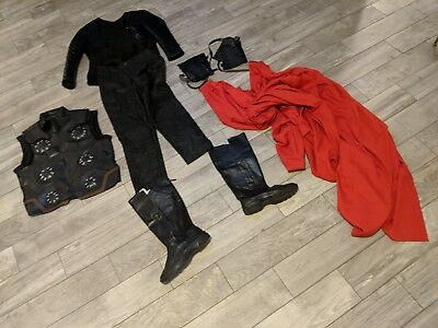 Avengers Infinity War Cosplay Thor Odinson Costume Halloween Outfit, Size Small
