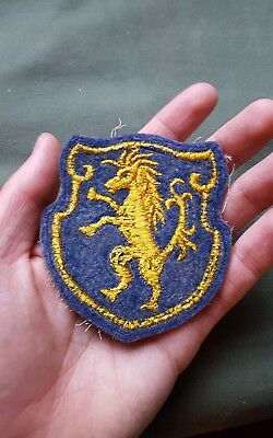 RARE WWII US Army 6th Armored Cavalry Regiment Felt Patch