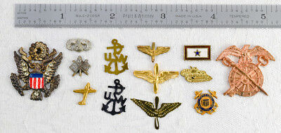 Assorted Nos Wwii Military Sweetheart Jewelry Charms