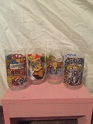 "Full set of 4, ""The Great Muppet Caper"" 1981 McDonald's Glasses"