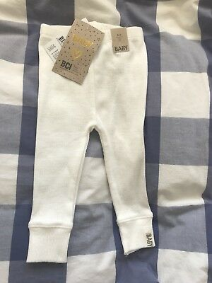 Cotton On Kids Ribbed Leggings. 3-6 Months. New