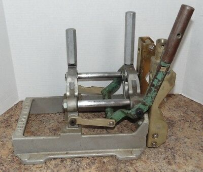 """McElroy 200101 2"""" Plastic Pipe Fusion Poly Welder Machine Base Clamp Assembly"""