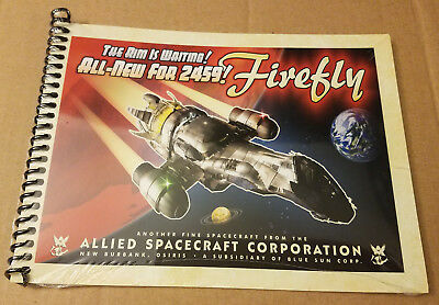 Firefly - Serenity Blueprints, A Loot Crate Exclusive Mini Book, Sealed NEW!!