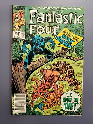 Fantastic Four #311 (Feb 1988, Marvel) WITH BLACK PANTHER