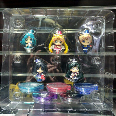 5pcs/set Sailor Moon Christmas Series Special PVC Figure Toy Gift New No Box