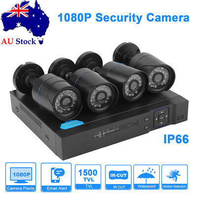 1080P Wireless IP Camera Home CCTV Security System Network Night Vision HDMI DVR