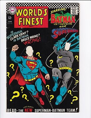 World's Finest #167 (Jun 1967, DC) - Silver Age Comic Book - See Scans!