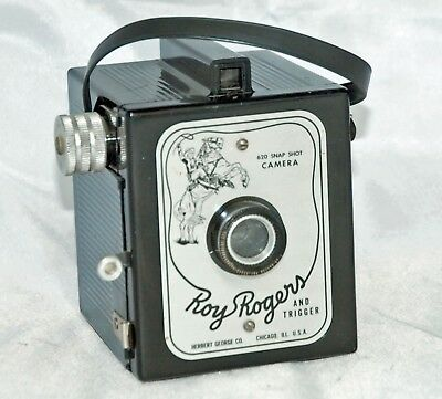 ROY ROGERS & TRIGGER CAMERA from the 50's