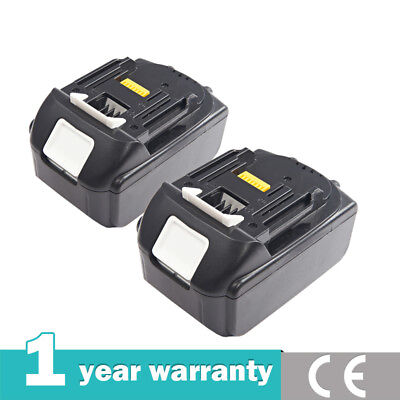 2 X 18V 3.0Ah Battery For Makita BL1830 BL1840 LXT400 Lithium Ion Cordless New