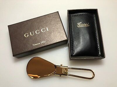 Gucci Shoe Horn keep In Handbag or Pocket Very Compact For Travel