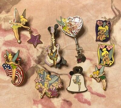 Assorted Tinkerbell Collector Pins