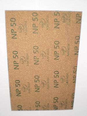 Neoprene Cork Gasket Sheet Amorim NP50 - 300mm x 214mm x 4.5mm A4 SIZE Free Post