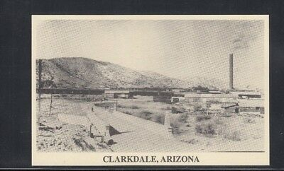 Reproduction Postcard Clarkdale AZ Smelter Stack Unused
