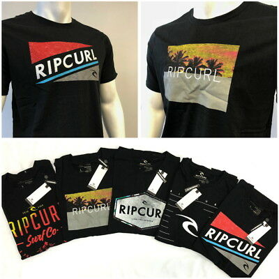 New Rip Curl Mens Beach Surfing Sport Gym T-Shirt Tee -Size S, M, L