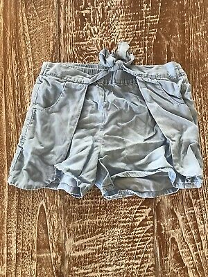 Seed Girls Chambray Shorts - Sz 7-8