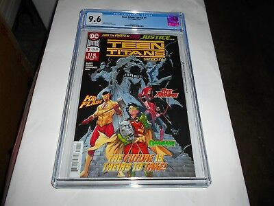 Teen Titans Special  #1 Cgc 9.6 (Crush) (Combined Shipping Available)